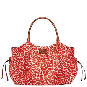 Kate Spade Leopard Stevie Baby Diaper Bag